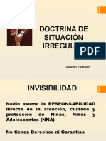 Doctrina de Situacion Irregular