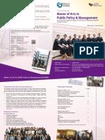 MAPPM Leaflet 2014 Intake Final