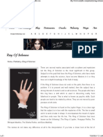 Ring of Solomon _ Palmistry Illustrated Guide - Auntyflo.com