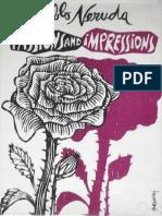 Neruda, Pablo - Passions and Impressions (FSG, 1983)