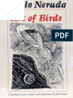 Neruda, Pablo - Art of Birds (Texas, 1985)
