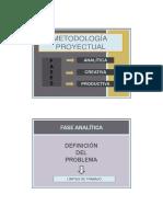 Introduccion metodología proyectual