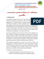 Informe 5 Galleta