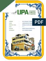 Informe de Sistema Hotel -Joel Vasquez Espinoza