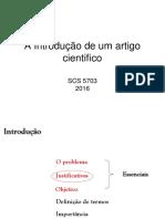 A Introdução de um artigo cientifico 2016.ppt