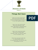 Things Not Seen - Sheaves of Grain - 48