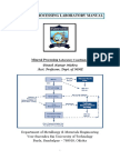 Mineral Processing Laboratory Manual