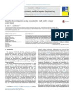 Liquefaction of Mitigation