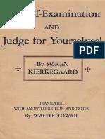 Kierkegaard, S - For Self-Examination (Princeton, 1944).pdf