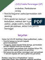 Ud, Cv, Pt, Yayasan