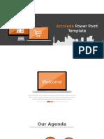 Powerpoint Template Orange