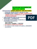Practica Calificada Domiciliaria de Diseño en Acero 2017-2