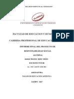 Informe de Musica Proyecto Completo