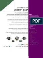 Luxeon 1WStars Datasheet