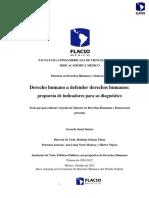 Derecho Humano a Defender Derechos Humanos Propuesta de Indicadores Para Su Diagnóstico_unlocked