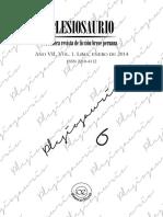 Plesiosaurio n.° 6, vol. 1