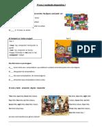 Atividades de Ensino de Lc3adngua Inglesa 6c2ba Ao 9c2ba Ano1