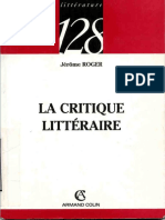 litterature 128 - La Critique Litteraire .pdf