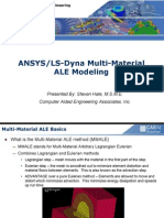 ANSYS_LS-Dyna Multi Material