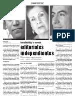 Entre La Vida y La Muerte Editoriales Independientes
