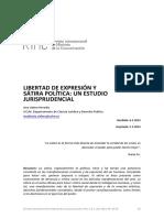 LibertadDeExpresionYSatiraPoliticaUnEstudioJurisprudencial
