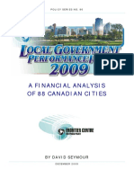 Canadian City Financial Analysis