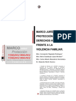 2. Marco Jurídico de Protección de Los Derechos Humanos Frente a La Violencia Familiar