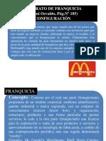 7)Contrato de Franquicia