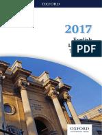 Oxford University Press English Language Teaching (ELT) Catalogue 2017