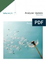 ReleaseNotes Analyzer Update August2008