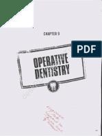 BB Operative Dentistry