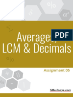 Average Decimal Assignment 05