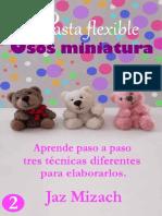 Pasta Flexible_ Osos Miniatura - Jaz Mizach