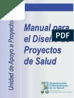 Manual Para El Diseño de Proyectos de Salud-1