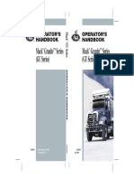 2009 Mack Granite Series (GU) Operator's Manual