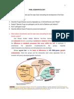 Soal Ujian Akhir Mycology