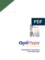 GMAO OptiMaint  Procédures