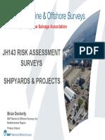 JH143 Risk Assessment Surveys_B. Docherty
