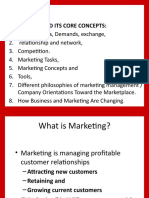 1 - Marketing and Its Core Concepts