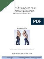 Cambios Fisiológicos en El Embarazo y Puerperio