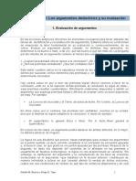 Leccion Nº 3 - Los Argumentos Deductivos y Su Evaluación (Versión Imprimible)