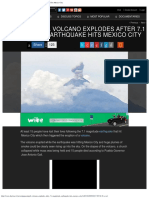 Popocatepetl Volcano EXPLODES After 7.1 Magnitude Earthquake Hits Mexico Cit.pdf