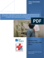 proyecto de implementacion de hospital