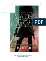 Blades of Illusion - Crown Service, Book 2 First Five Chapters