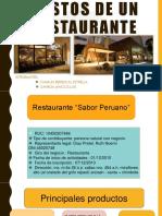 Costos de Un Restaurante Completo
