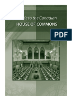 Guide Canadian House of Commons-e