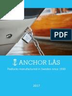 Padlock - Anchor Lås 2017