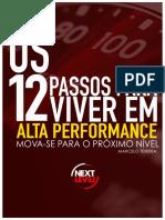 12 Passos Para Viver Em Alta Performance