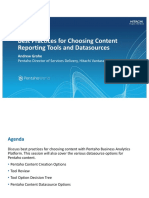 Best Practices for Choosing Content Reporting Tools and Datasource PWorld2017