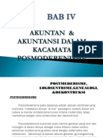 Bab 6 Akuntan Dan Akuntansi Dalam Kacamata Posmodernisme